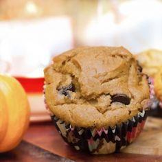 Gluten-Free Pumpkin Chocolate Chip Muffins (and healthy!)