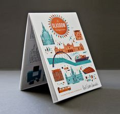 Glasgow Map by illustrator Brent Couchman