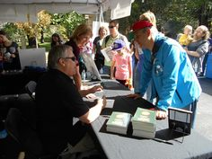 My husband and I had lots of fun at The Word On The Street National Book and Magazine Festival that we attended this September at the invite from his book publisher. My husband and I had a booth a...