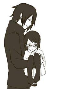 sasuke -sarada este fue mi futuro pero te protegeré aun que aya cometido errores