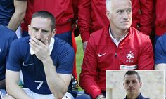 WC 14 Brasil- Ribery out of World Cup as Southampton's Schneiderlin is called up