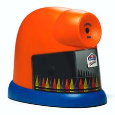 must have an Elmer's crayon sharpener in kindergarten and preschool classroom