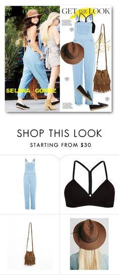 """Get The Look - Selena Gomez"" by svijetlana ❤ liked on Polyvore featuring Innocence, Oakley, Free People, GetTheLook, StreetStyle, selenagomez and polyvoreeditorial"