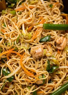 asian recipes A great Chow Mein comes down to the sauce it takes more than just soy sauce and sugar! Jam packed with a surprising amount of hidden vegetables, customize this Chicken Chow Mein recipe using your protein of choice. Chinese Chicken Recipes, Easy Chinese Recipes, Chinese Noodle Recipes, Homemade Chinese Food, Rice Noodle Recipes, Authentic Chinese Recipes, Chicken Ideas, Chinese Cooking Wine, Asian Cooking