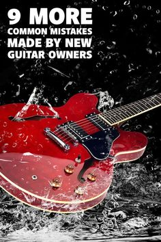 I made a lot of mistakes back when I was a new guitar owner. Here are 9 common ones I'd like to help you avoid. Guitar Case, Guitar Chords, Acoustic Guitar, Guitar Tips, Guitar Lessons, Music School, Guitar Strings, Playing Guitar, Keep It Cleaner