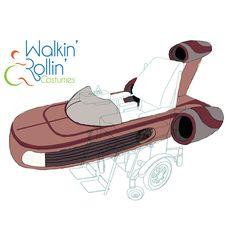Gallery-SciFi-Walkin' & Rollin' Costumes Easy Costumes, Costume Ideas, Wheelchair Costumes, Skateboard, Sci Fi, Sketches, Gallery, Drawings, Kids