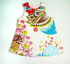 Garden Baby Girl Dress - Toddler Dress - Baby Dress 6M - 18M