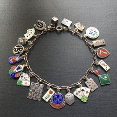 31 Best Lucky Charms Silver Enamel Vintage Charms Images On