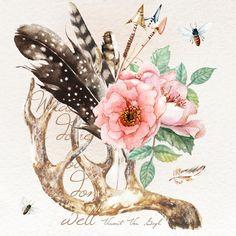 Watercolor Landcolor Skycolor …