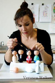 Making little cuties they are from Sharon Wee Creations ;)   www.sharonwee.com.au