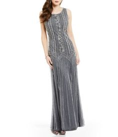 Shop for Pisarro Nights Beaded A-Line Sleeveless Gown at Dillards.com. Visit Dillards.com to find clothing, accessories, shoes, cosmetics & more. The Style of Your Life.
