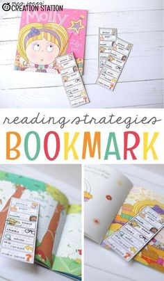 Reading strategies are great to teach to new readers! This free printable reading strategy bookmark is one that students will love! This bookmark reminder makes it possible to take wherever the students go, even around your house! Because of this, they can always have it with them when they read. #free #printable #read #book #kids #homeschool