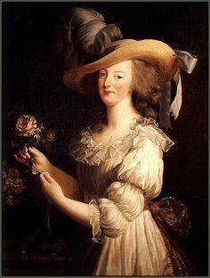 Marie-Antoinette, 1783, by Elisabeth Vigée Le Brun.