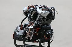 Harley-Davidson's all-new V-Twin: More power, more torque, less vibration, all…