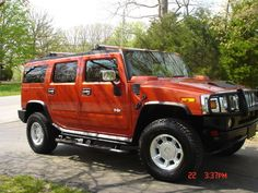2003 Hummer H2 ….. She was a real beauty and we loved her!! We bought it off ebay as soon as they were on the market!!! I still miss her...