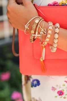 Loving those bracelets!