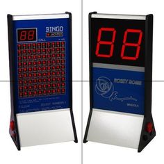 We have the biggest and best range of easy to use bingo machines on the market. Our lightweight and portable bingo machines are UK made and built to last - they carry a 24 month wa Free Tickets, Alarm Clock, Pens, Electronics, Projection Alarm Clock, Alarm Clocks