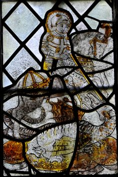 https://flic.kr/p/awBsRe | Kelmscott St George St George and the Dragon probably 1450-80 -158 | Kelmscott is best known from it's association with William Morris who bought Kelmscott Manor and lived there with with his wife Jane and Dante Gabriel Rossetti. It is an idyllic Cotswold village lost in a maze of country lanes on the upper reaches of the River Thames. Indeed William Morris would row from his home in London, http://www.bwthornton.co.uk/visiting-stratford-upon-avon.php