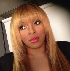 Beautiful Blonde hair with Bangs by Salon Pk Hair Salon Jacksonvile Florida. Featuring Salon Pk True&Pure Virgin Hair.