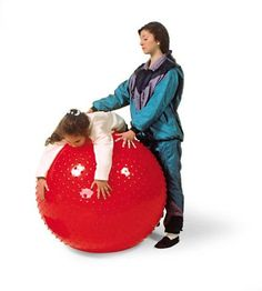 Therasensory GYMNIC rot Gymnastikball Noppen Ø Wahrnehmung Balance Massage Special Needs Toys, Massage, Sensory Rooms, Soft Play, Good Grips, Bean Bag Chair, Therapy, Children, Perception