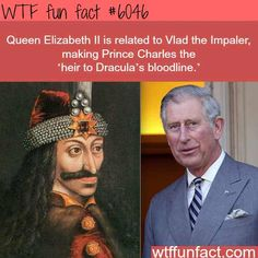Prince Charles is expounded to Vlad the Impaler – WTF enjoyable info – didyouknow. Interesting Information, Interesting History, Interesting Facts, Amazing Facts, Funny Facts, Funny Memes, Random Facts, Funny History Facts, History Weird