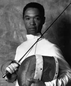 Peter Westbrook, probably the most decorated American fencer to date. Bad dude Peter became U.S. National Men's Sabre Championship 13 times almost consecutively. Won 2 Olympic Bronze, 6 Silver & 3 Gold Medals