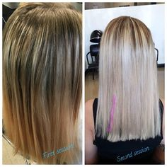 Blown away by this result! ��#balayageombre #balayage #icy #icequeen #hair #haircolor #cosmetology #gjaexperience #blonde #passion #beauty #love http://tipsrazzi.com/ipost/1524380442169356133/?code=BUnr--GDq9l