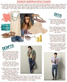 What-to-Wear Wednesday - Senior Inspiration Board