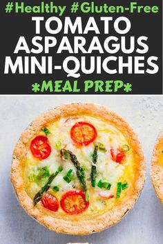 These Healthy, Vegetarian Small Quiches are made with an almond flour crust, making them gluten-free, low-carb, keto and. Healthy Eating Recipes, Delicious Vegan Recipes, Real Food Recipes, Healthy Snacks, Healthy Protein, Protein Snacks, Healthy Baking, Healthy Eats, Vegetarian Recipes