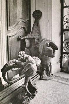 David Douglas Duncan, Picasso's home, Cannes, France, 1956