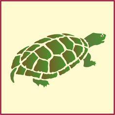 Turtle Stencil Animal Stencil New The Artful Stencil | eBay