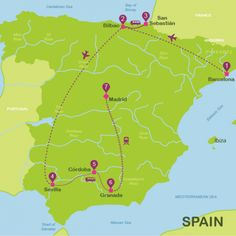 Where to go in Spain | Suggested itinerary Spain in 14 days | Way Away