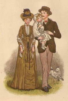Kate Greenaway Childrens Illustrations 027