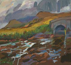 Lachlan Goudie 'The River' www.artfortwilliam.co.uk