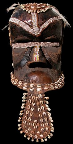 """""""Bwoom"""" mask - KUBA (BaKuba): Sankuru and West..."""