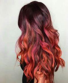 Fire hair :D ♡
