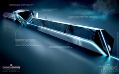 Concept Trains | Home » Tron Uprising » Tron Uprising Train Concept
