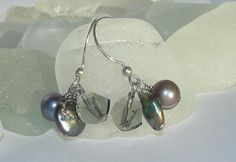 sterling silver with freshwater pearls and by DesignsbyVoula