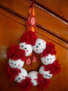 Funny Food, Food Humor, Diy Christmas Gifts, Christmas Ornaments, Holiday Decor, Baba Marta, Diy And Crafts, Arts And Crafts, Activities For Kids