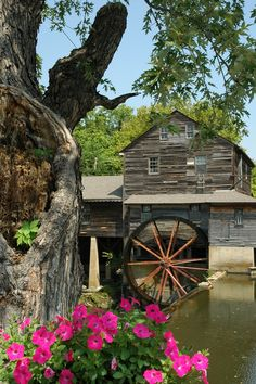 The Old Mill - Located in Pigeon Forge #restaurant