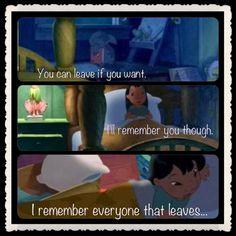 I'll remember you...
