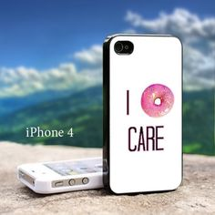 I DoNut Care-iPhone 4/4s Case