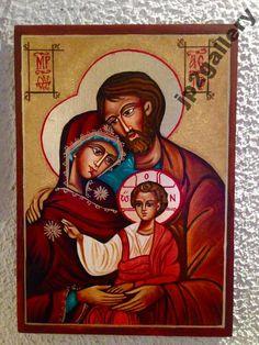 Święta Rodzina Ikona ręcznie pisana ŚLUB chrzest