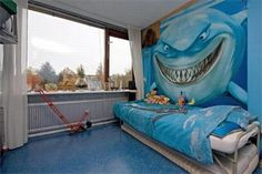 Would be so awesome in my son's room!