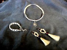 Horsehair jewelry photo album