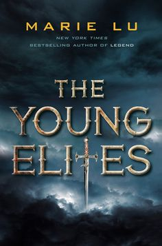 THE YOUNG ELITES by Marie Lu -- Adelina wants to believe Enzo is on her side, and that Teren is the true enemy. But the lives of these three will collide in unexpected ways, as each fights a very different and personal battle. But of one thing they are all certain: Adelina has abilities that shouldn't belong in this world.