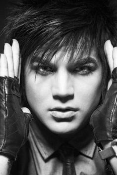 Adam Lambert. I know he's gay and all, but HAVE YOU SEEN HIM? OHDEARGOD. HOTNESS! <3