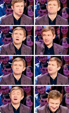 Martin, what are you doing with your face?!  <3