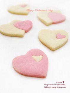 http://blog.daum.net/aspoonful  하트 쿠키, 발렌타인데이 쿠키   heart cookie,valentine day cookie,