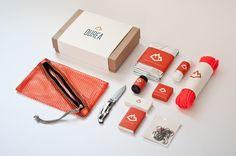 Ourea Branding - The Portfolio of Alden Haley  http://cargocollective.com/imalden/Ourea-Branding